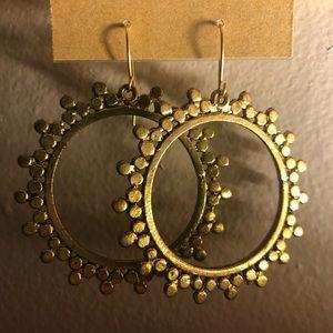 NWT hoop earrings.